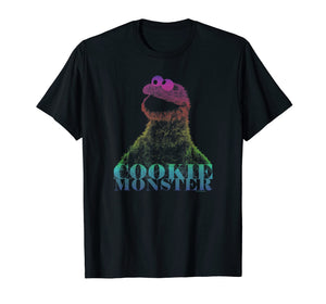 Sesame Street Cookie Monster Halftone T Shirt