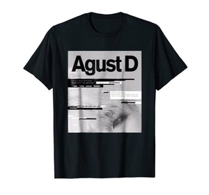 A-GUST T Shirt D ALBUM ART