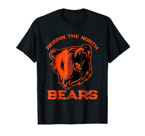 Chicago Reppin The North 2018 Bears Champions Shirt Gifts