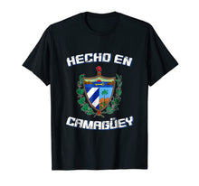 Load image into Gallery viewer, Cuban Shirt Hecho En Camaguey Cuba Camisa