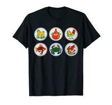 Load image into Gallery viewer, Bau Cua Tom Ca Vietnamese Game T-Shirt