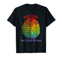Load image into Gallery viewer, Multiple Sclerosis Awareness Yes Its All In My Head Shirt