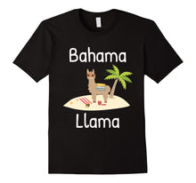 Load image into Gallery viewer, Cute and funny Llama vacation t-shirt for the whole family
