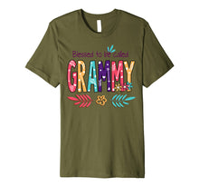 Load image into Gallery viewer, Blessed To Be Called Grammy Flower T-Shirt Funny Grammy Gift Premium T-Shirt