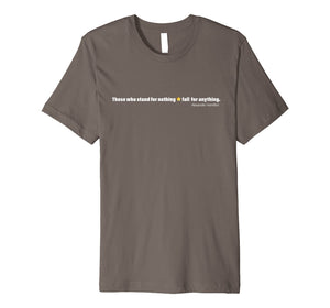 A. Hamilton Quote Shirt History USA Women Men Gift T-Shirts