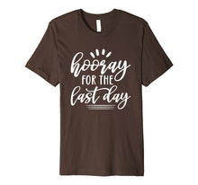 Load image into Gallery viewer, Last Day of School Shirt for Students Teachers Hooray Premium T-Shirt