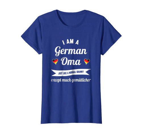 Womens Great Oma T-Shirt for the best German Granny