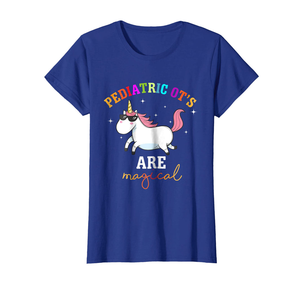 Rainbow Unicorn Pediatric OT Shirt Occupational Therapy Tee