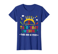 Load image into Gallery viewer, 5th Birthday Taco Bout Awesome Shirt for Boys Party Tee Gift