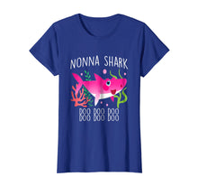 Load image into Gallery viewer, Cute Nonna Shark Doo Doo Doo T-shirt christmas gift ideas