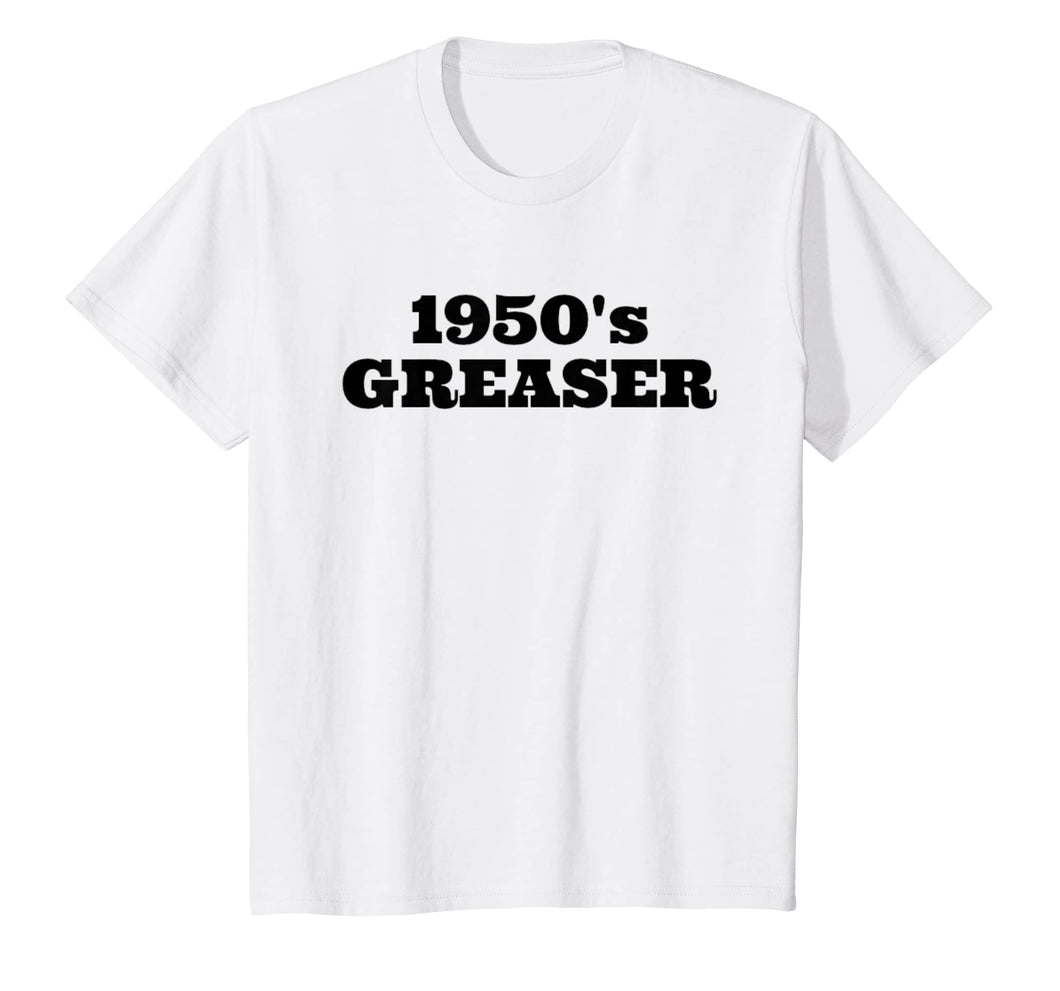 1950's Greaser Tshirt 50s Sock Hop Shirt Men Boys