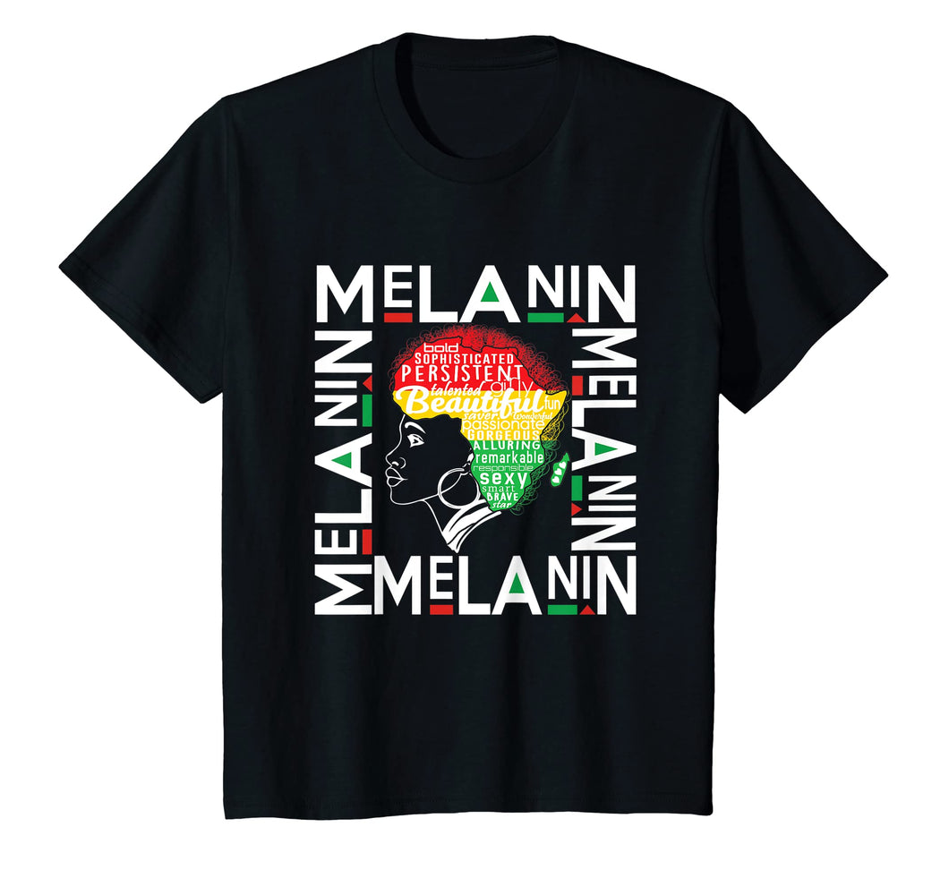 Beautiful Black Queen - Melanin Pride African DNA Shirt
