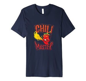 Chili Master Food Contest Cook Off Red Pepper Gift TShirt