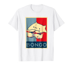 Bongo Cat For President Hope Poster