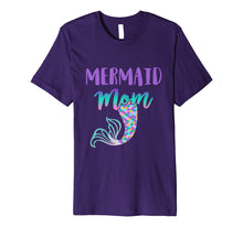 Load image into Gallery viewer, Mermaid Mom Mermaid Birthday Shirt Tee T-Shirt