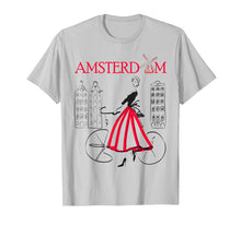 Load image into Gallery viewer, Amsterdam T-Shirt Woman - Amsterdam Bicycle - 5 colors