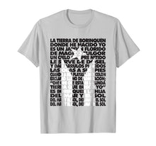 Load image into Gallery viewer, Puerto Rico Black Flag National Anthem Lyrics Letra TShirt