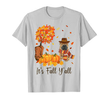 Load image into Gallery viewer, It's Fall Y'all Shar Pei Pumpkin Fall Autumn Thanksgiving T-Shirt