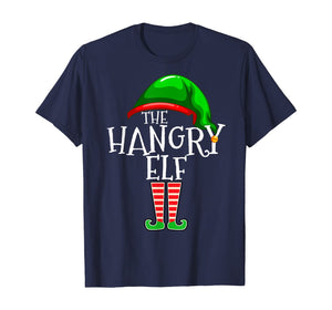 The Hangry Elf Family Matching Group Christmas Gift Funny T-Shirt