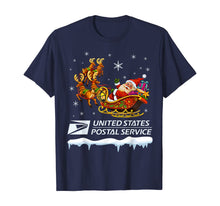 Load image into Gallery viewer, United States Postal Service Santa Christmas Funny Xmas Gift T-Shirt