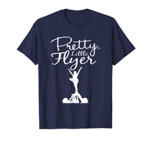 Load image into Gallery viewer, Pretty Little Flyer - Cheerleading Fun Cute T Shirt