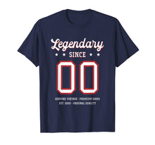 Load image into Gallery viewer, 19th Birthday Gift T-Shirt Legendary Since 2000