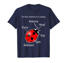 Load image into Gallery viewer, Ladybug Anatomy T-Shirt Teacher Help