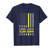 Load image into Gallery viewer, Tow Truck Driver Move Over Slow Down Yellow Line T-Shirt