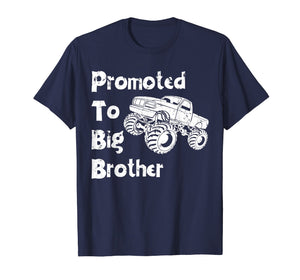 Promoted To Big Brother Monster Truck Shirt Toddler & Youth
