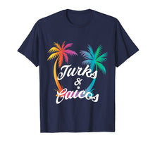 Load image into Gallery viewer, Turks and Caicos Bright Sunny Summer Beach Gift Idea T-Shirt