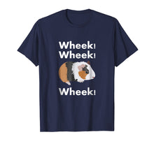 Load image into Gallery viewer, Cute & Funny Wheek - Guinea Pig Owner / Cavy Lover T-Shirt