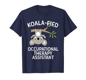 Cute Koala Occupational Therapy Assistant T-Shirt OT OTA