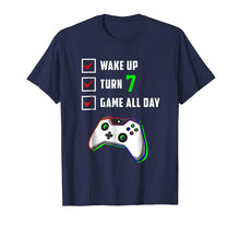 Load image into Gallery viewer, 7th Gamer Birthday Shirt Level 7 Unlocked T Shirt Gifts