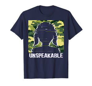 Camouflage Unspeakable Shirt Proud Army Girl girlfriend Face