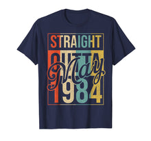 Load image into Gallery viewer, 35th Birthday Gift Straight Outta Vintage May 1984 T-Shirt