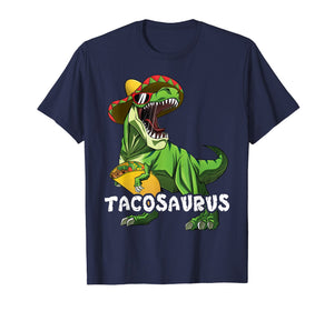Cinco De Mayo T Rex Shirt Tacosaurus Shirt For Boys