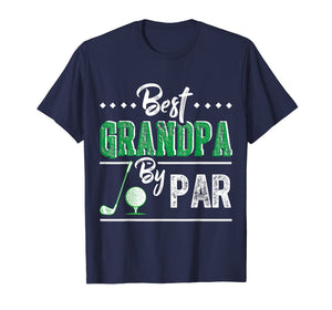 Best Grandpa By Par - Funny Golf T-Shirt Father's Day Gift