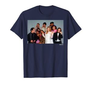 Clueless The Cast Funny Group Shot Graphic T-Shirt