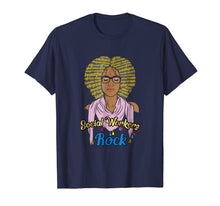 Load image into Gallery viewer, Social Workers Rock Shirt Black Girl Magic MSW Soulful Diva