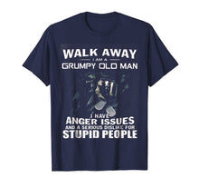 Load image into Gallery viewer, Walk Away I Am Grumpy Old Man T-Shirt