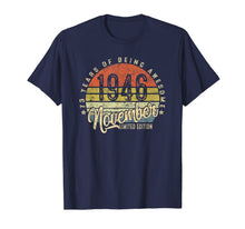 Load image into Gallery viewer, Vintage November 1946 73rd Birthday Gifts 73 Years Old T-Shirt