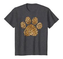 Load image into Gallery viewer, Leopard Paw Skin Love, Vintage Tee Shirt For Women Men