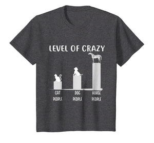 Appaloosa Horse Shirt, Level Of Crazy Horse T-Shirt