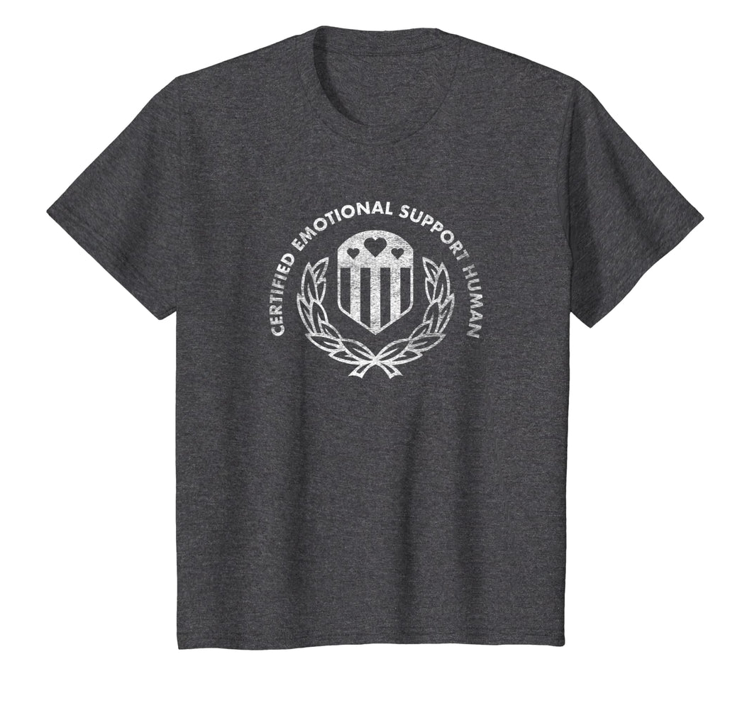Certified Emotional Support Human T-shirt
