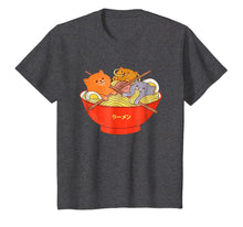 Load image into Gallery viewer, Kawaii Anime Cat Shirt Japanese Ramen Noodles Gift TShirt