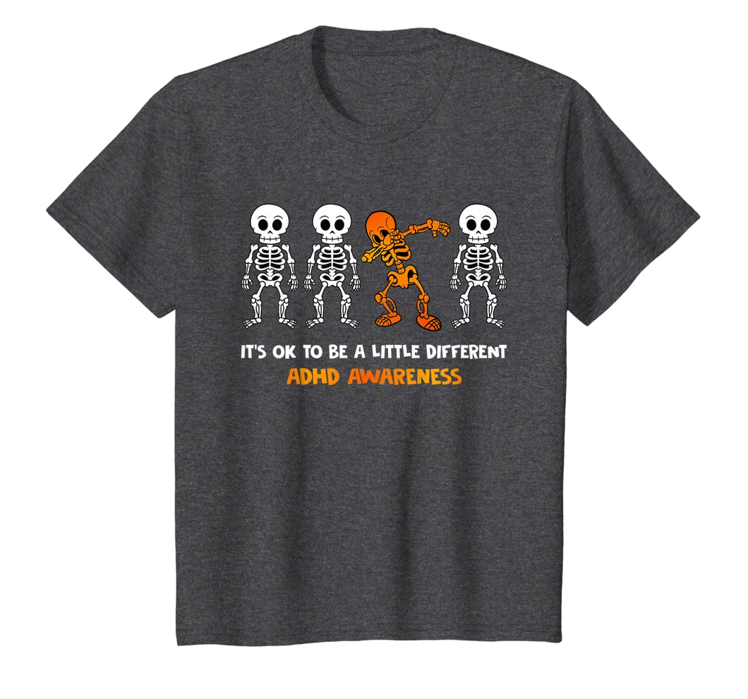 It's OK To Be Little Different ADHD Awareness T-Shirt