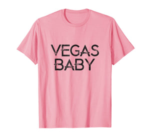 Las Vegas Baby - Novelty Souvenir Vacation T Shirt