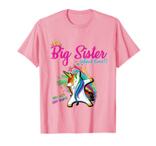 Load image into Gallery viewer, Unicorn Big Sister Shirt - I'm Going to be a Big Sister Tee