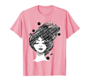 Black History Month Celebration Black Is Beautiful T-Shirt