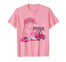 Load image into Gallery viewer, In October We Wear Pink Truck Breast Cancer Awareness Gifts T-Shirt